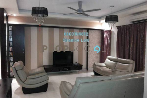 For Sale Terrace at Puteri 11, Bandar Puteri Puchong Freehold Fully Furnished 5R/4B 1.25m