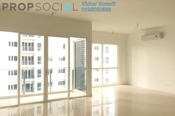 For Rent Condominium at Pavilion Hilltop, Mont Kiara Freehold Semi Furnished 3R/4B 5.5k