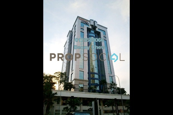 For Rent Office at Menara HeiTech Village, UEP Subang Jaya Freehold Semi Furnished 0R/0B 21k