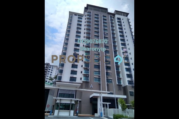 For Rent Condominium at Suakasih, Bandar Tun Hussein Onn Freehold Semi Furnished 3R/2B 1.5k
