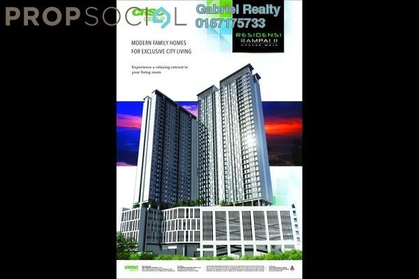 For Sale Condominium at Residensi Rampai 2, Kuala Lumpur Freehold Unfurnished 4R/0B 406k