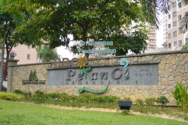 For Rent Condominium at Pelangi Damansara, Bandar Utama Freehold Semi Furnished 3R/2B 1.1k