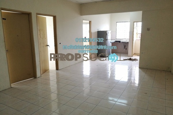 For Sale Apartment at Taman Pandan Ria 2, Ampang Leasehold Unfurnished 3R/2B 240k