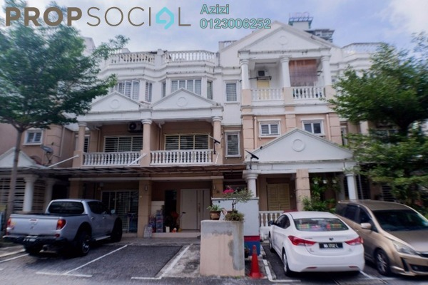 For Sale Townhouse at Sommerset Close, Bandar Sri Permaisuri Leasehold Semi Furnished 3R/4B 750k