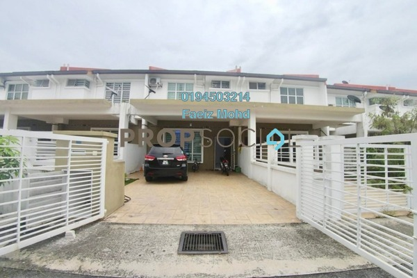 For Sale Terrace at Bandar Puncak Alam, Kuala Selangor Freehold Semi Furnished 4R/3B 435k
