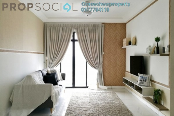For Rent Serviced Residence at The Platino, Skudai Freehold Fully Furnished 3R/0B 2.5k