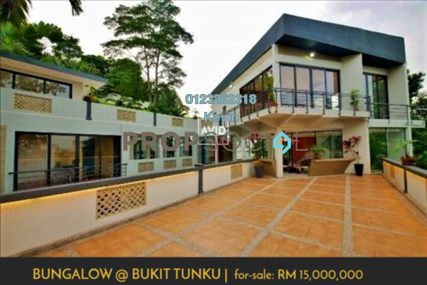 For Sale Bungalow at Bukit Tunku, Kenny Hills Freehold Semi Furnished 6R/8B 15m