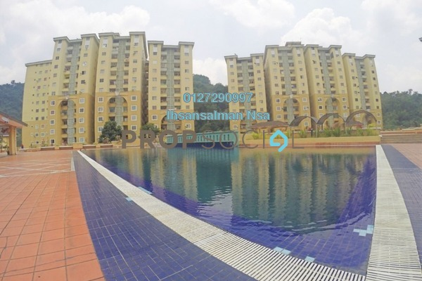 For Sale Condominium at Ketumbar Heights, Cheras Freehold Unfurnished 3R/2B 338k