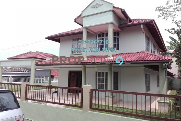 For Sale Bungalow at Lembah Keramat, Wangsa Maju Freehold Semi Furnished 5R/4B 2.2m