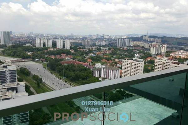 For Rent Condominium at Kiara Residence 2, Bukit Jalil Freehold Semi Furnished 3R/3B 2k