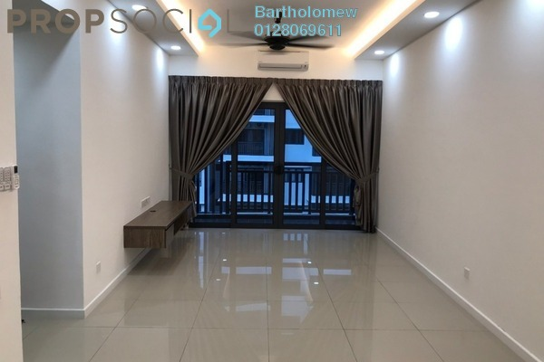 For Rent Condominium at Suria Residence, Bukit Jelutong Freehold Semi Furnished 2R/2B 1.7k