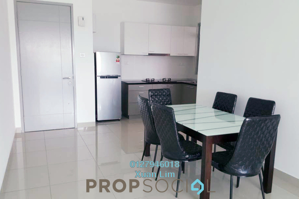 For Sale Condominium at Kiara Residence 2, Bukit Jalil Freehold Fully Furnished 3R/2B 595k