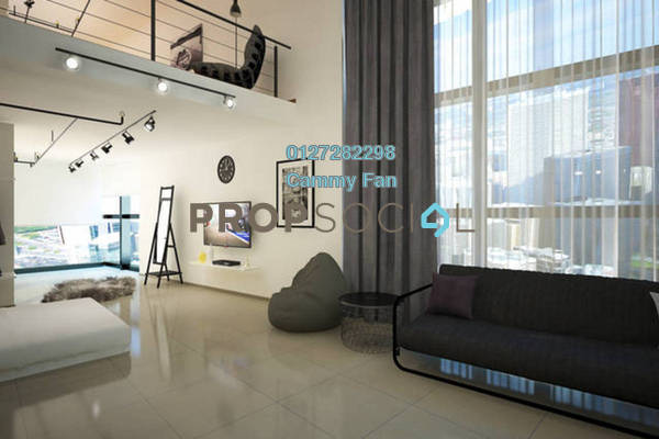 For Rent SoHo/Studio at Pinnacle, Petaling Jaya Freehold Fully Furnished 1R/2B 2.8k