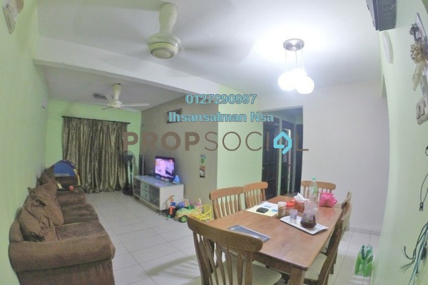 For Sale Apartment at Pantai Indah Apartment, Pantai Freehold Unfurnished 3R/2B 345k