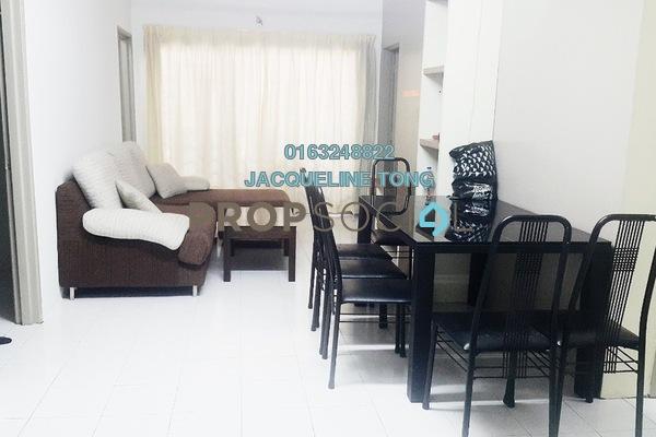 For Sale Apartment at Putra Indah Apartment, Bandar Putra Permai Freehold Semi Furnished 4R/2B 268k