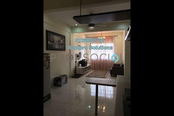 For Rent Apartment at Taman Cheras Intan, Batu 9 Cheras Freehold Fully Furnished 3R/2B 1.05k