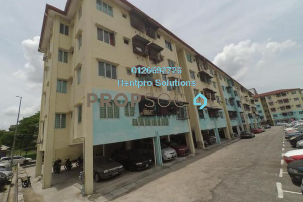For Rent Apartment at Taman Cheras Utama, Cheras South Freehold Semi Furnished 3R/2B 700translationmissing:en.pricing.unit