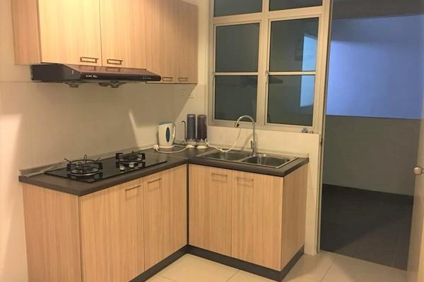 For Sale Condominium at Kiara Residence, Bukit Jalil Leasehold Semi Furnished 3R/2B 550k