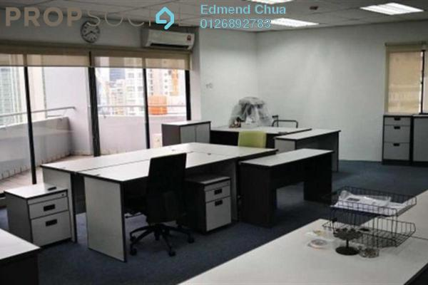 For Rent Office at Wisma UOA I, KLCC Freehold Semi Furnished 0R/2B 9k