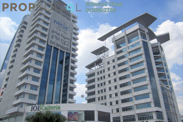 For Rent Office at PFCC, Bandar Puteri Puchong Freehold Semi Furnished 0R/0B 7.65k