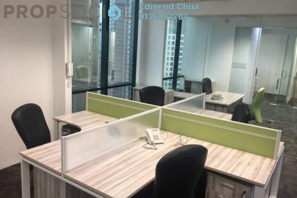 For Rent Office at Menara Keck Seng, Bukit Bintang Freehold Fully Furnished 0R/0B 6.49k
