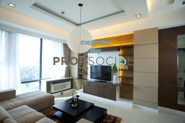 For Rent Condominium at 3 Towers, Ampang Hilir Freehold Semi Furnished 1R/1B 1.8k