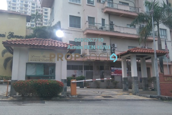 For Sale Condominium at Lanai Gurney, Keramat Freehold Semi Furnished 2R/2B 400k