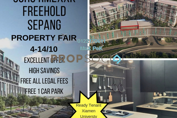 For Sale SoHo/Studio at Core SoHo Suites, Sepang Freehold Semi Furnished 1R/1B 260k