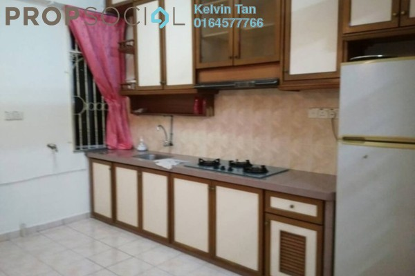 For Rent Apartment at Taman Sri Bunga, Jelutong Freehold Fully Furnished 3R/2B 1k