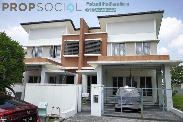 For Sale Semi-Detached at Legundi Residensi, Bandar Seri Putra Freehold Unfurnished 5R/3B 990k