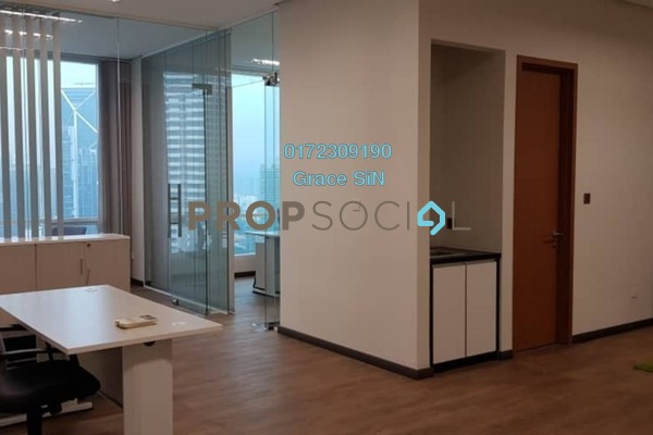 For Rent Office at Soho Suites, KLCC Freehold Fully Furnished 2R/1B 4k