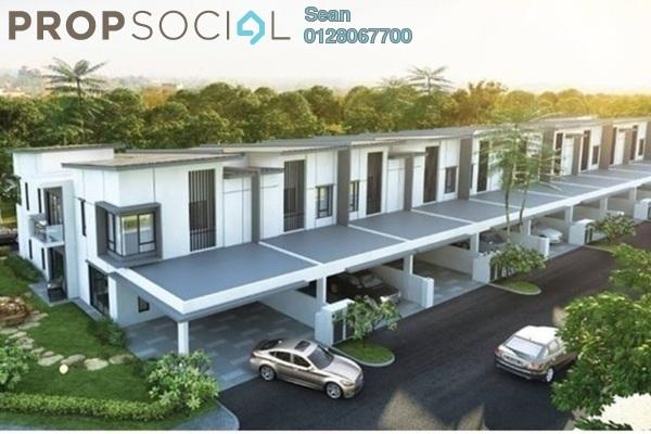 For Sale Terrace at Desa Pinggiran Putra, Putrajaya Freehold Unfurnished 4R/3B 459k