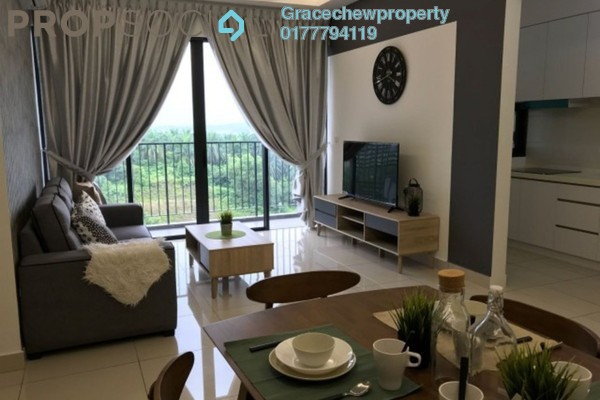 For Rent Serviced Residence at Citrine Residences, Sunway Iskandar Freehold Fully Furnished 2R/2B 2.6k