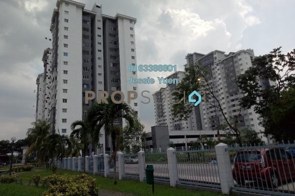 For Rent Condominium at Suria KiPark Damansara, Kepong Freehold Semi Furnished 3R/2B 980translationmissing:en.pricing.unit