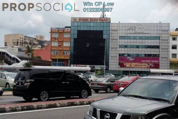 For Rent Shop at Kenanga Point, Pudu Freehold Unfurnished 1R/1B 3k