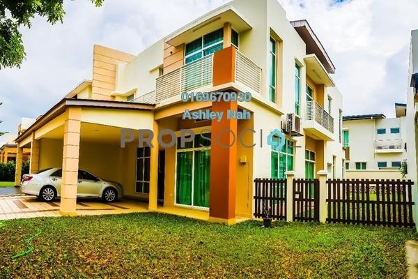 For Sale Semi-Detached at Setia Eco Park, Setia Alam Freehold Semi Furnished 4R/5B 2.1m