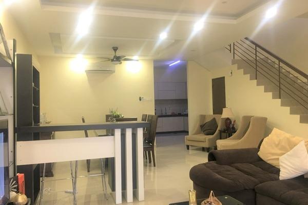 For Sale Terrace at Seri Sungai Long, Bandar Sungai Long Freehold Semi Furnished 4R/3B 920k