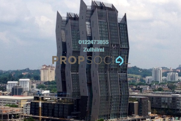 For Sale Condominium at The Capers, Sentul Freehold Semi Furnished 4R/4B 835k