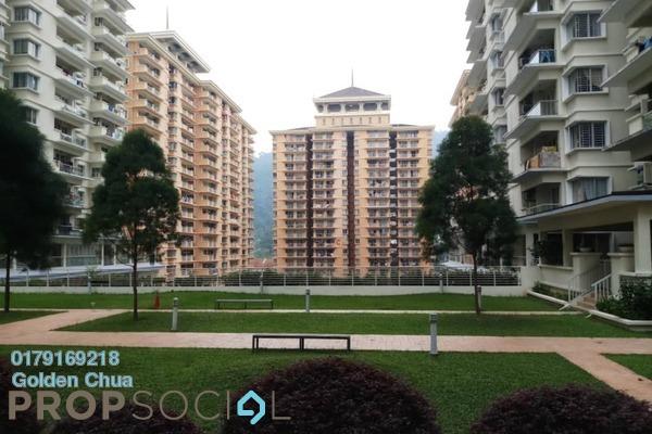 For Sale Condominium at Platinum Hill PV8, Setapak Freehold Semi Furnished 5R/2B 560k