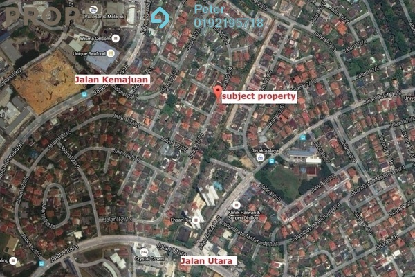 For Sale Terrace at Section 12, Petaling Jaya Leasehold Semi Furnished 4R/3B 960k