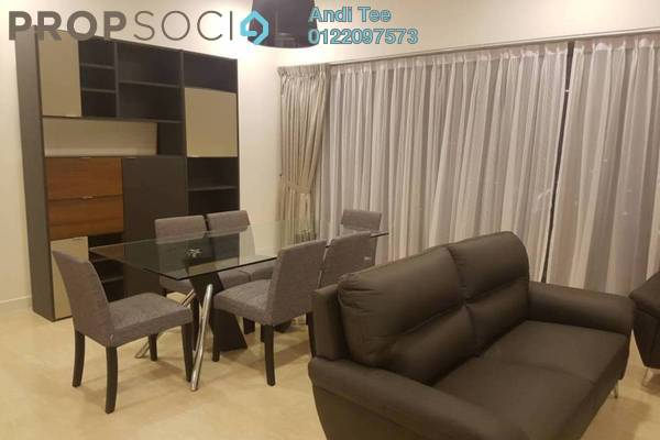 For Sale Serviced Residence at The Sentral Residences, KL Sentral Freehold Semi Furnished 2R/3B 2.5m