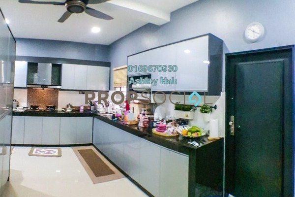 For Sale Terrace at Desira, Bandar Bukit Raja Freehold Semi Furnished 4R/3B 888k