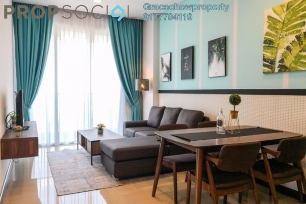 For Rent Condominium at Puteri Cove Residences & Quayside, Iskandar Puteri (Nusajaya) Freehold Fully Furnished 2R/2B 3.2k