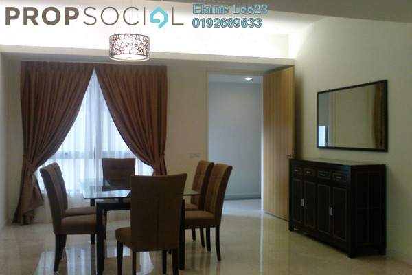 For Rent Condominium at 2 Hampshire, KLCC Freehold Fully Furnished 3R/3B 7k