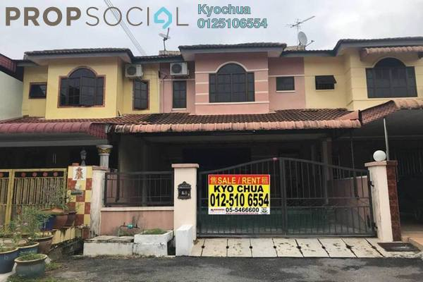 For Sale Terrace at Taman Bercham Baru, Ipoh Leasehold Unfurnished 4R/3B 285k