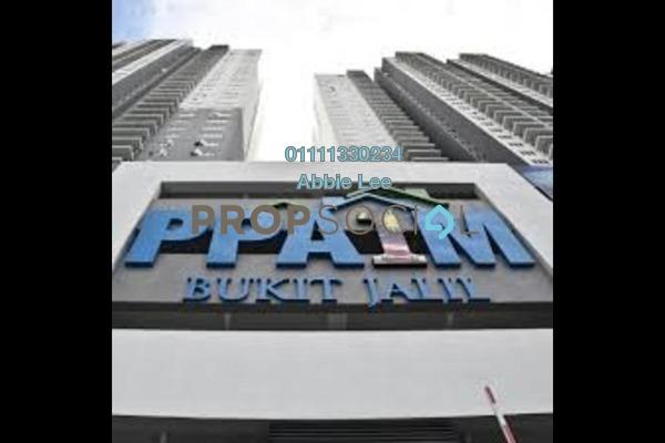 For Rent Apartment at PPA1M Bukit Jalil, Bukit Jalil Freehold Semi Furnished 3R/2B 1.2k