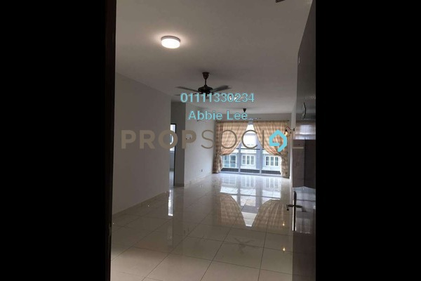 For Rent Condominium at Aurora Residence @ Lake Side City, Puchong Freehold Semi Furnished 3R/2B 1.6k