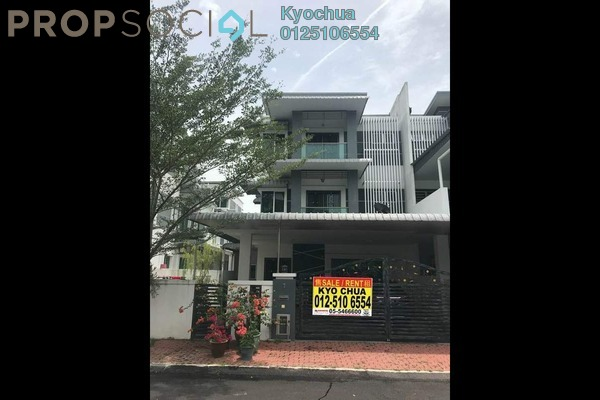 For Sale Semi-Detached at Ridgewood @ Taman Bercham Permai, Ipoh Freehold Semi Furnished 6R/5B 728k