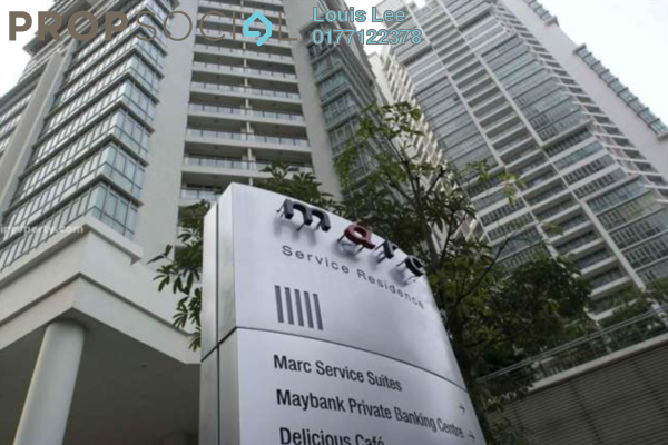 For Sale Condominium at Marc Service Residence, KLCC Freehold Fully Furnished 2R/2B 1.28m