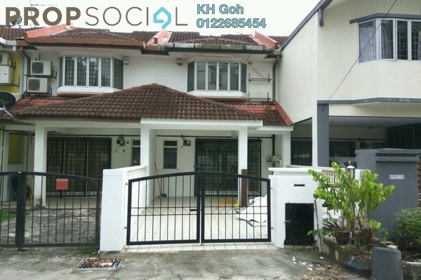 For Rent Terrace at Taman Sri Sinar, Segambut Freehold Semi Furnished 3R/3B 1.4k